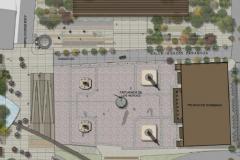 Mcroplaza Master Plan 06 Explanada de los Heroes Square