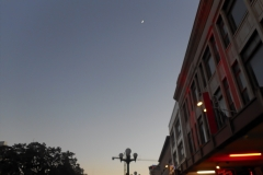 Moon over San Antonio