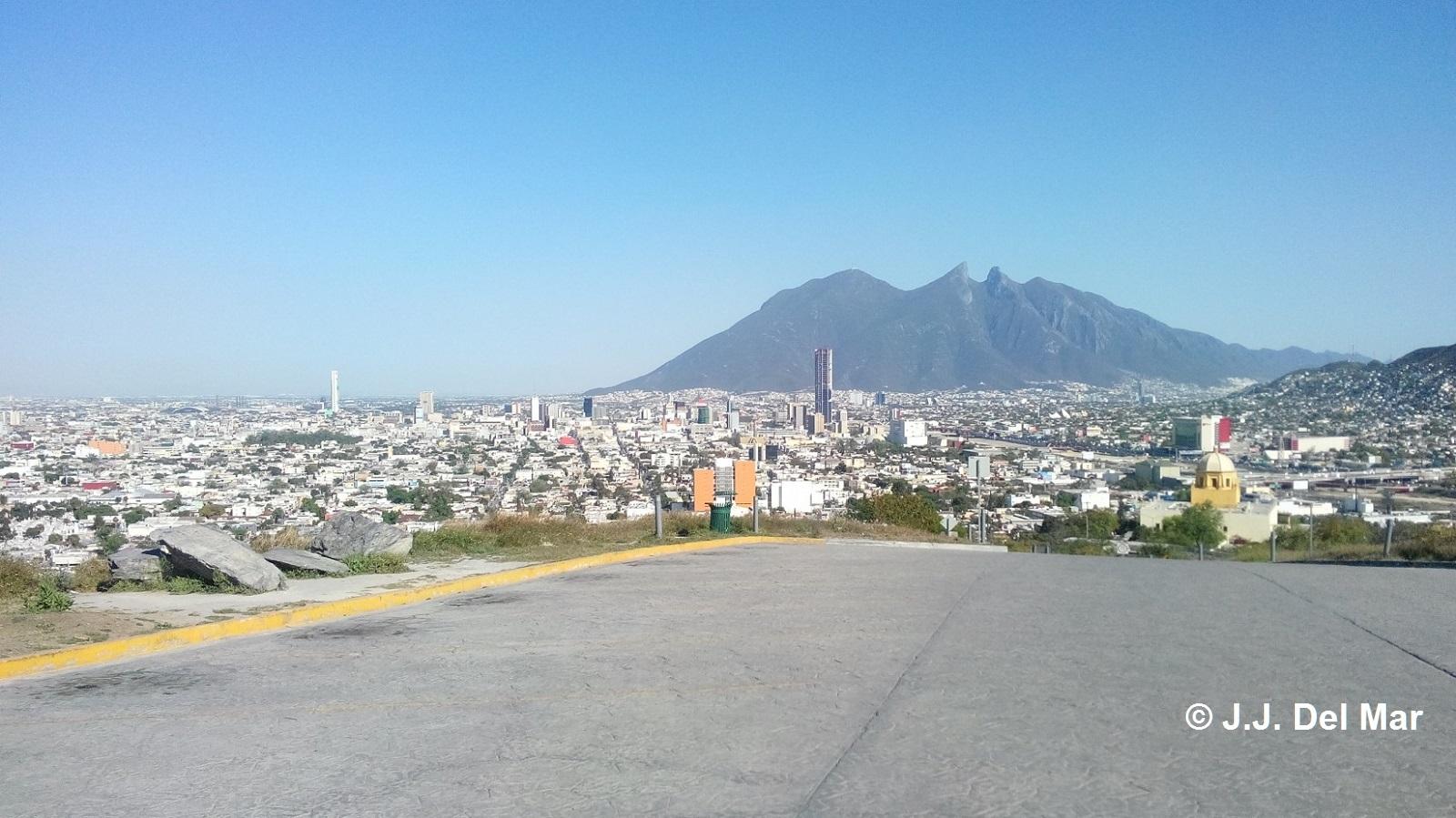 Monterrey Skyline 2013